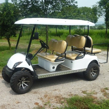 6 seat off road used petrol golf cart