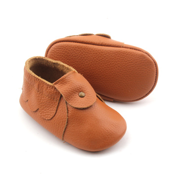 Leather Wholesale Cute Moccasins New Born Baby Shoes
