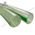 Reinforced flexible pvc 2 inch water braided hose