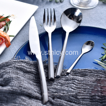 Restaurant Cheap Silver Flatware Set Dinner