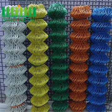 PVC coated diamond mesh fencing for sale