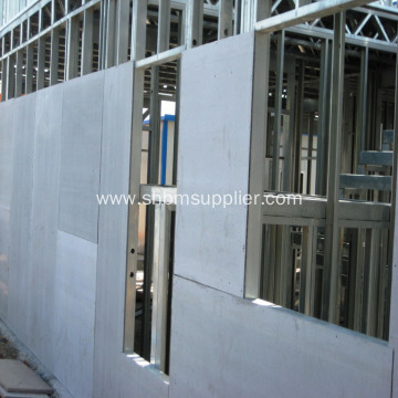 External Wall Panel Anti-corrosion 12mm Fiber Cement Board