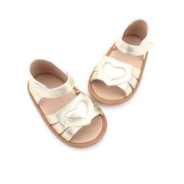 Golden Baby Sandals Girl