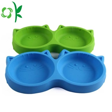 Silicone Foldable Pet Bowl Cute High-quality Cat Bowl