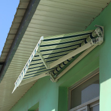 Anti-Wind Sun Shade Retractable Outdoor Awnings