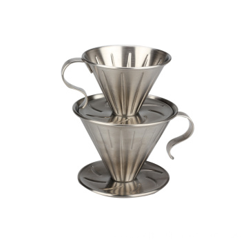 Stainless Steel Coffee Dripper -Size 2