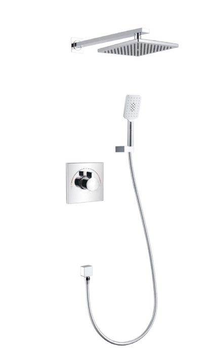 Dual Control Concealed Shower Mixer