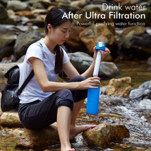 Outdoor Hiking Essential Filter Water Bottle