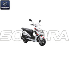 Benzhou YY125T-17B YY150T-17B Body Kit Complete Scooter Engine Parts Original Spare Parts