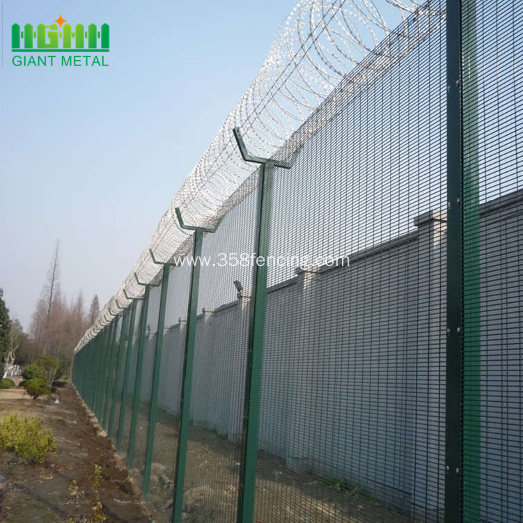 Prison fence of 358  Fence