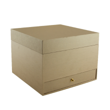 Special for Kraft Paper Packaging Box High End Custom Multi-Function Brown Gift Packing Box supply to Spain Manufacturer