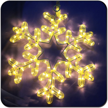Wholesale 2D christmas lights motif motif snowflake