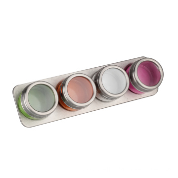 Multi-colored Stainless Steel Spice Jar