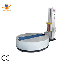Conveyor paper roll film wrapper with CE
