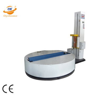Stretch film paper roll machine