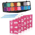 Water Based Halloween Party Makeup Face Painting Kit