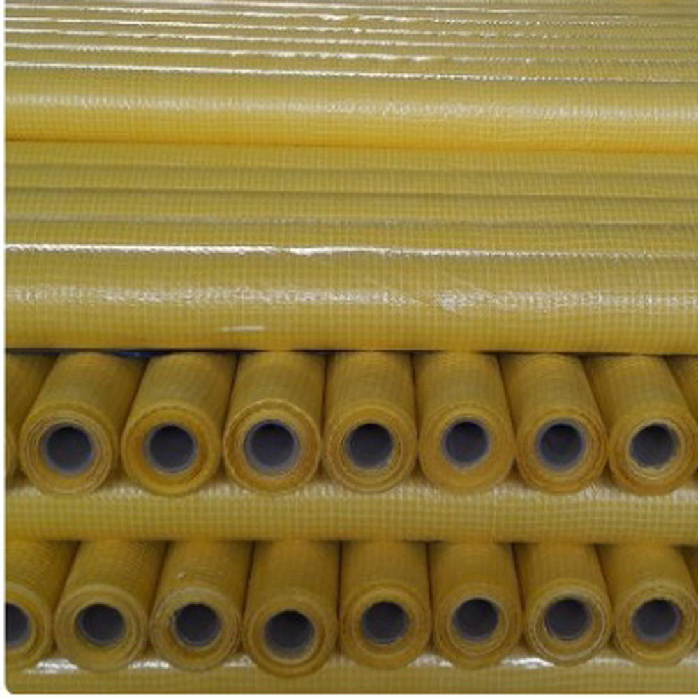 Yellow Leno Tarpaulin micropore roof fabric