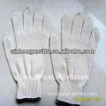 string cotton knitted gloves/cotton working gloves
