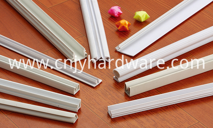 Clear Color Magnet shower PVC door rubber seal