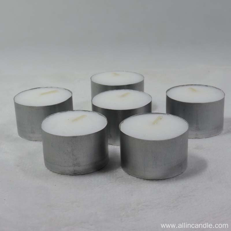 Wedding favors paraffin wax light tealight candle
