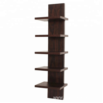Spine Wooden MDF Wall shelf