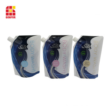 Custom Printed Liquid Soap Bag Standing Doypack For Detergent