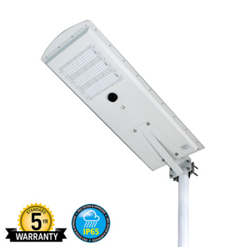 40W Solar Pole Lights For Parking Lots