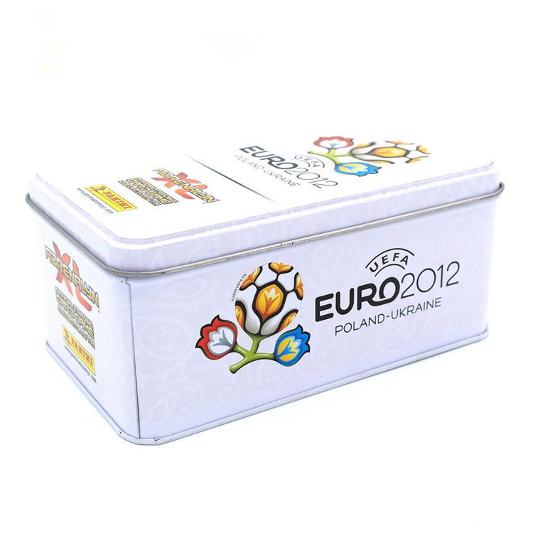 Square Tin Box Football Printing