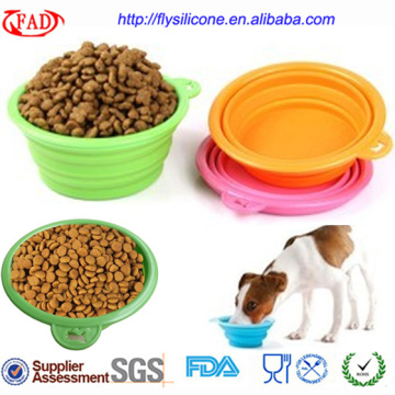 PriceList for for Personalized Pet Bowls Portable Novelty Wholesale Silicone Pet Food Bowls supply to Congo Exporter