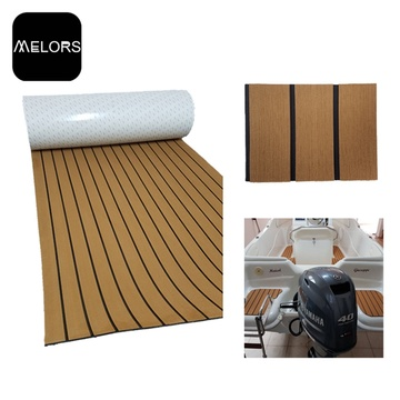 Melors Teak Boat Platform Synthetic Teak Decking Foam