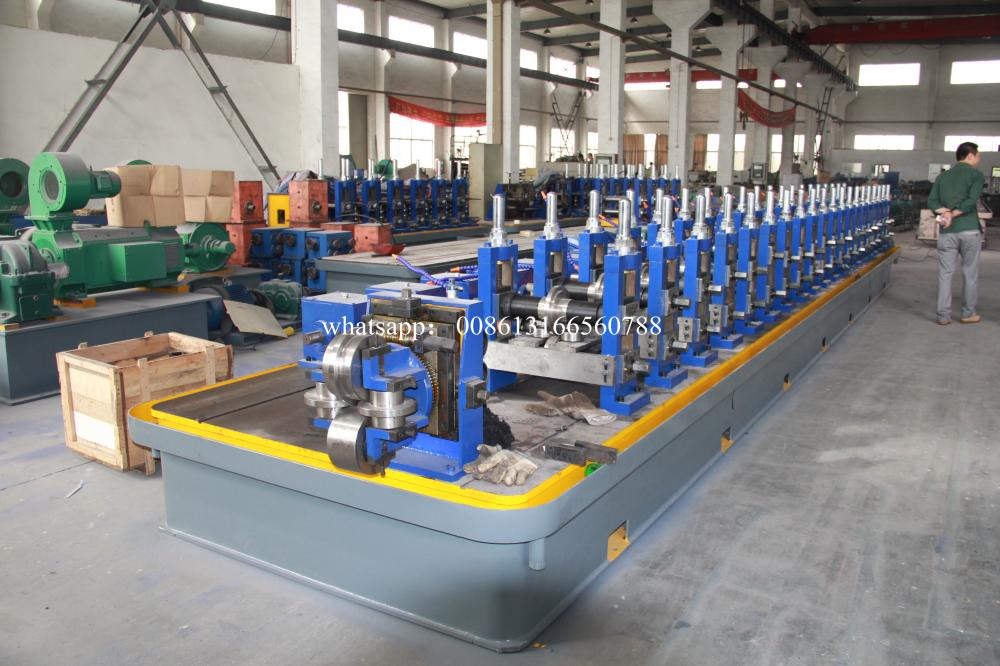 Welded Tube Mill Pipe Making Machine