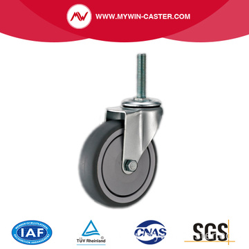 Threaded Stem TPR Industrial Casters