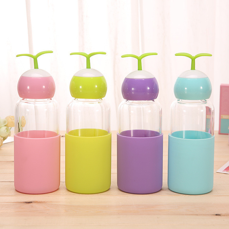 Silicone bottle sleeves
