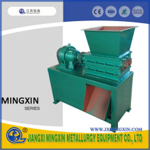 Small 2 Shaft Waste Pc Plastic Crusher