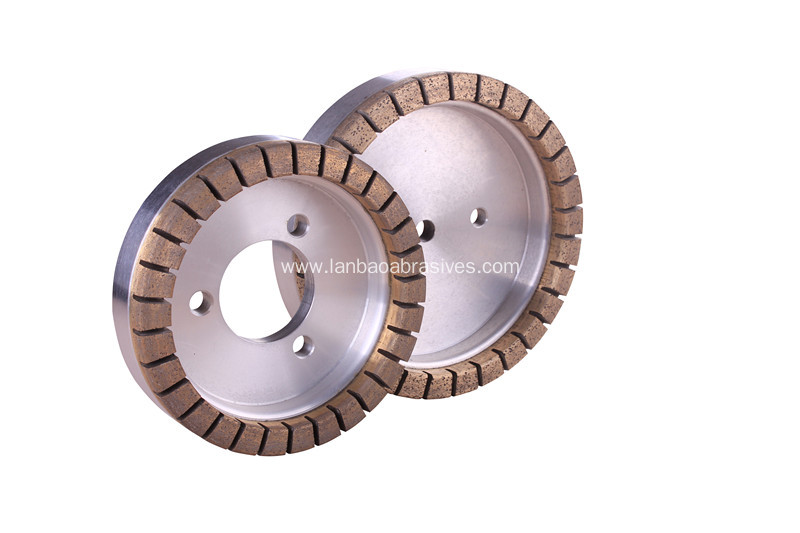 segmented diamond grinding wheel for glass