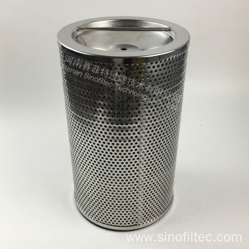SS316L Stainless Steel Cylinder Air Filter