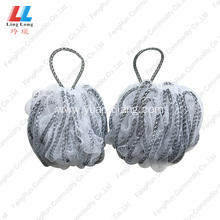New Arrival China for Mesh Bath Sponge best baby bath products Loofah Bath pouf Sponge supply to Armenia Manufacturer