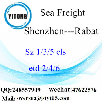 Shenzhen Port LCL Consolidation To Rabat