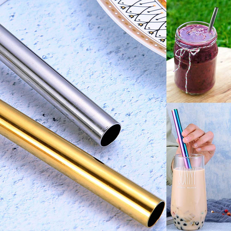 18/8 Stainless Steel smoothies Straw
