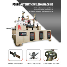 Scald proof vertical automatic welding machine