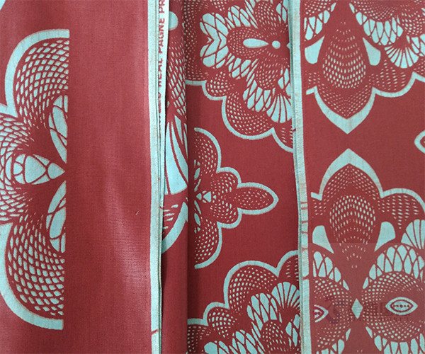 Wax Printed Fabric