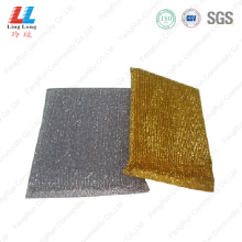 Gold silver sponge kitchen washing style