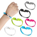 2019 Newest Fashion colorful Bracelet Portable Mobile Phone Fast Charger Micro Bracelet Usb Cable