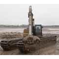 Power 110W-150W Amphibious Excavator