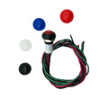 IP68 Waterproof Momentary Push Button Switches With Wire
