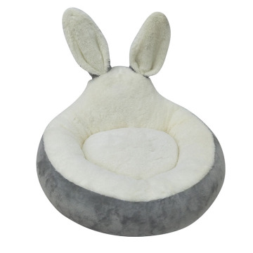 Christmas Ultra Soft Pet bed with rabbit shape