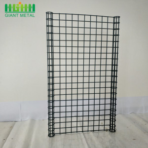 Galvanized Welded Ornamental Double Circle Mesh Fence