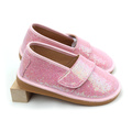 Kids Fancy Pink Colors Toddler Glitter Squeaky Shoes