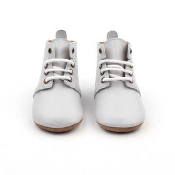 Soft Sole Safety Boots Leather Baby Leather Shoes