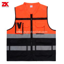 CE standard reflective garment for high visiable